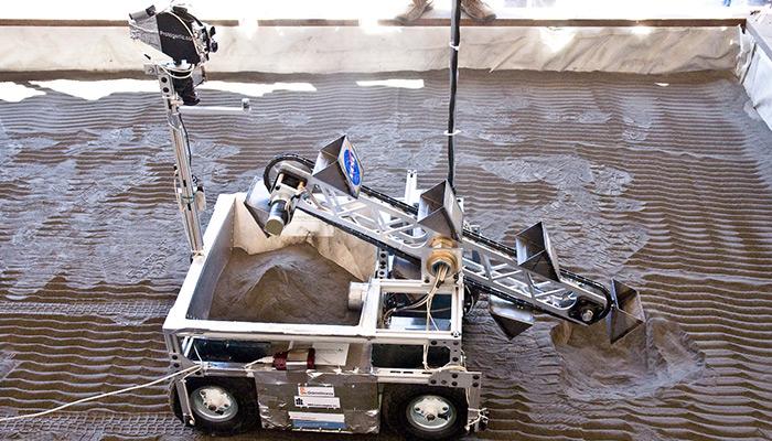 NASA Mars Excavator