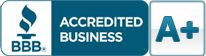 BBB Accredited - A+ Rating